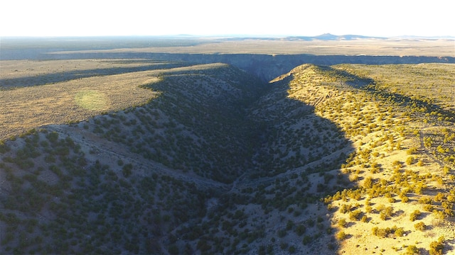 Une vallée du Nouveau-Mexique.