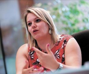 La mairesse Christine Black