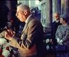 Le général de Gaulle prononce le fameux discours du «Vive le Québec libre», sous le regard médusé du maire Jean Drapeau.