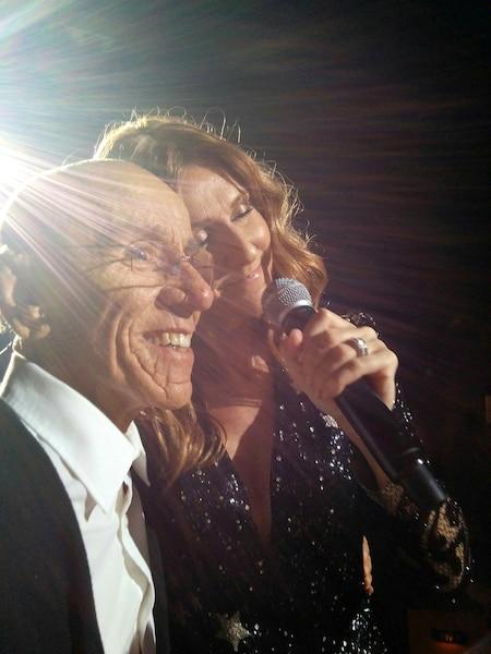 Accompagné de sa conjointe et de quelques membres de sa famille, Michel Marceau a vécu un moment privilégié avec Céline Dion à Las Vegas, samedi soir dernier.