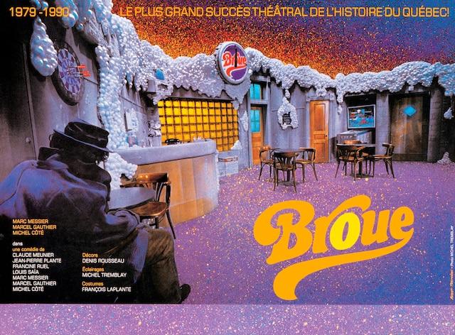 «Le plus grand succès théâtral de l'histoire du Québec», annonce une affiche publicitaire de 1990. Elle regroupe sept auteurs: Claude Meunier, Jean-Pierre Plante, Francine Ruel, Louis Saia, Michel Côté, Marcel Gauthier, Marc Messier.