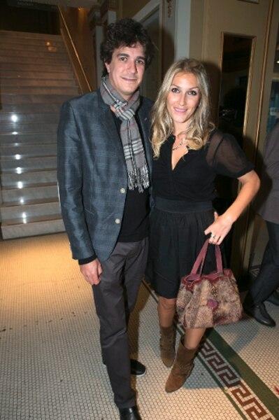 Jérôme Charlebois et l'actrice Ingrid Falaise.
