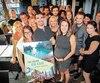 Kathryne Lamontagne était bien entourée lors du lancement de 105 jours en Asie, mardi.