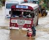 Les pluies de mousson ont provoqué des inondations et glissements de terrain.