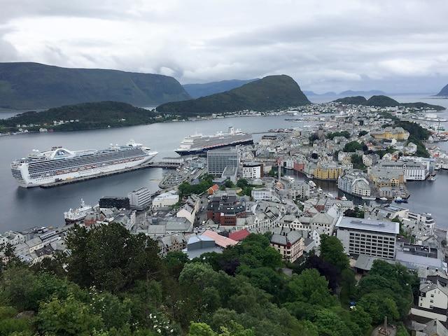 Alesund (vue du mont Aksla)