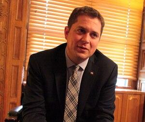 Le chef du Parti conservateur Andrew Scheer, en 2017.