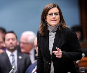 La ministre de la Justice Stéphanie Vallée.