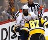 P.K. Subban et Sidney Crosby se livrent un furieux duel depuis le début de la finale de la Coupe Stanley.