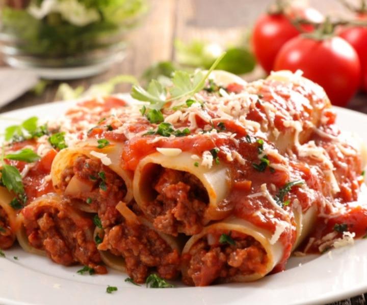 Cannelloni à la viande