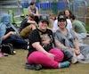 Mélanie et Sonia font partie des irréductibles de P!nk à attendre aux abords des Plaines.