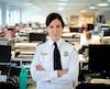 La commandante Christine Christie a piloté l'enquête menant à l'arrestation.