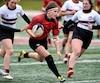 Demi-finale de rugby féminin Rouge et Or vs Concordia au stade Telus, Samedi le 22 Octobre 2016 DANIEL MALLARD/AGENCE QMI