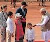 Le premier ministre canadien Justin Trudeau et sa famille ont rencontré, hier, à New Delhi, le premier ministre de l'Inde Narendra Modi.