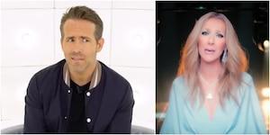 Image principale de l'article Quand Ryan Reynolds imite Céline Dion