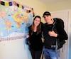 Sandra Desjardins, 35ans, et Jean-Charles Goulet, 40ans, ont décidé de quitter leur train-train quotidien pour explorer le monde. Ils documentent leur voyage sur un blogue portant leurs noms.