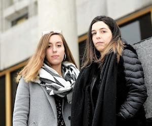 Selon leurs dires, Agathe (à gauche) et Manon ont préféré raconter leur histoire au Journal dans l'espoir de faire bouger les choses plutôt que de porter plaintepuisque «de toute façon, en raisondu manque de preuves, personne ne serait condamné».