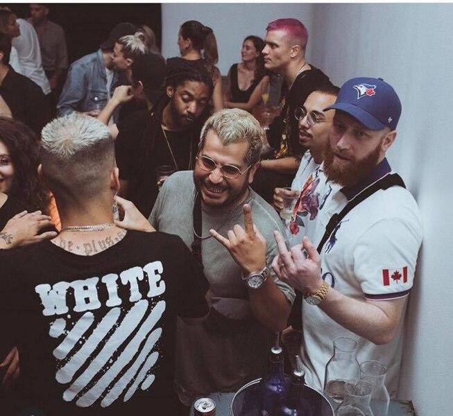 Carlos, Rymz, Ruffsound, Benny Adam, David Lee et cie lors d'une soirée Rap Mommies