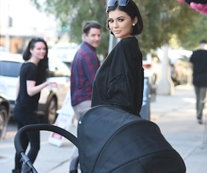 Madame Tussauds' Hollywood Kylie Jenner wax figure and newborn Stormi spotted shopping for the first time