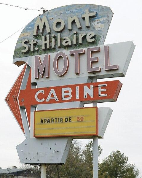 Le kidnappeur et sa victime ont passé la nuit au motel Cabine de Mont-Saint-Hilaire.