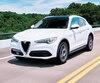 Modèle inédit parmi les utilitaires de luxe, l'Alfa Romeo Stelvio ne passe jamais inaperçu en raison de sa silhouette élégante et unique.