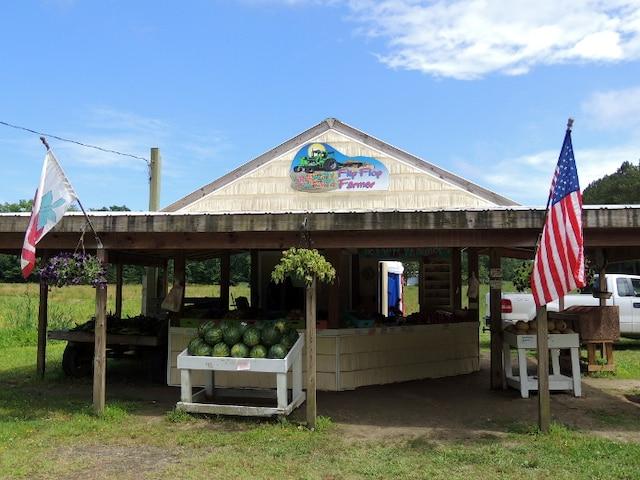 Le kiosque Flip Flop Farmer