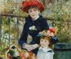 Le tableau «Les deux soeurs», peint par le maître français de l'impressionnisme Pierre-Auguste Renoir en 1881.