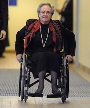 L'ex-lieutenante-gouverneure du Canada, Lise Thibault.