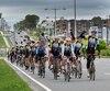Partis de Saint-Jérôme, les dizaines de cyclistes sont arrivés à Québec dimanche.