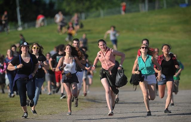 La course folle pour les Stones sur les Plaines.