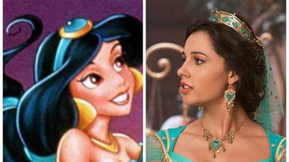 Pourquoi on ne voit pas le ventre de Jasmine?