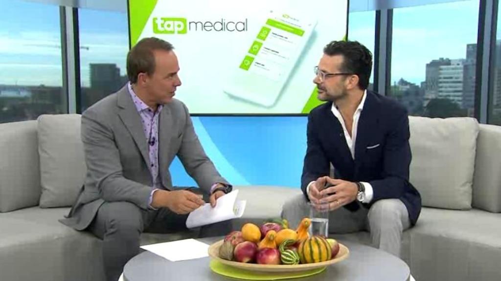 L'app Tap: un rendez-vous médical
