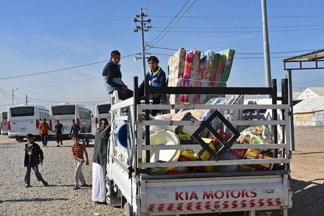 L'épicentre du tremblement de terre, de magnitude 7,3, a été établi tout près de la frontière Irak-Iran.