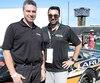 Denis (à gauche) et Louis Larue ont contribué à l'éclosion du nouveau champion de la série NASCAR Pinty's, AlexLabbé.