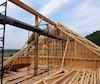 Bloc construction chantier