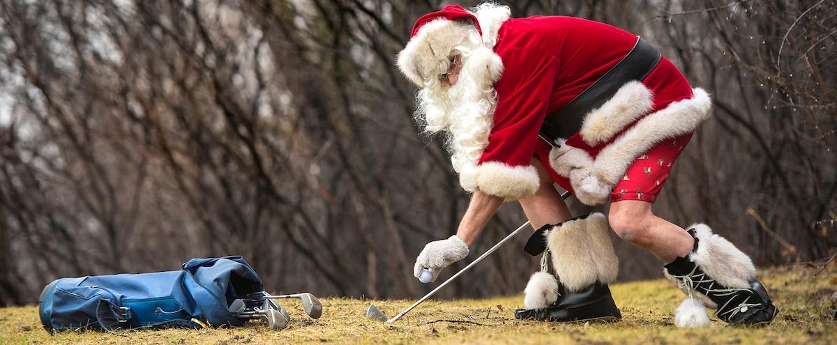 Joyeux Noël et bon golf!   Le Journal de Montréal