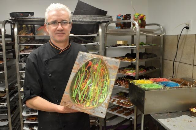 Yves Bonneau, chocolatier français installé dans le quartier Ahuntsic-Cartierville.