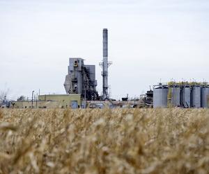 Cet incinérateur installé sur les lagunes de Mercier brûlait des déchets au milieu des champs. Jusqu'à sa fermeture en 2011, il rejetait des poussières chargées de mercure.