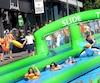 La gigantesque glissade sera de retour sur la rue Racine au mois d'août. L'an dernier, plus de 3500 personnes s'étaient amusées dans le centre-ville, à l'angle Racine et Lafontaine.