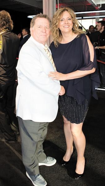 Rodger Brulotte et sa femme