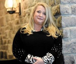 Nathalie Simard étaitde passage à Québec, mardi, pour le tournage d'un vidéoclip.