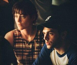 Xavier Dolan et l'actrice Marion Cotillard sur le plateau du film Juste la fin du monde.