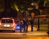 Le SPVM a déterminé que l'agression s'est produite dans le secteur du boulevard Poirier et de la rue des Harfangs.