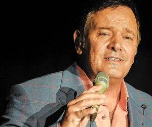 Mario Pelchat était en vedette, mercredi soir, lors d'une soirée-bénéfice au profit de la Fondation Félix-Leclerc.