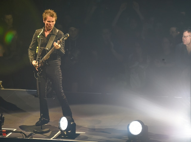 La formation Muse s'est arrêtée au Centre Vidéotron, lundi. Elle sera en spectacle au Centre Bell mercredi et jeudi, avant de retourner dans la Vieille Capitale pour un ultime concert en sol québécois.