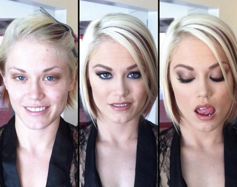Atrises Porno Com les transformations incroyables des actrices porno avec et
