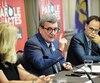 Le maire Labeaume n'apprécie par les méthodes du mafioso Francesco Del Balso et assure que la police de Québec travaille activement à l'enquête le concernant. À la veille d'un sommet prévu aujourd'hui, plusieurs maires étaient rassemblés à Québec, jeudi. Régis Labeaume participait à cette rencontre.