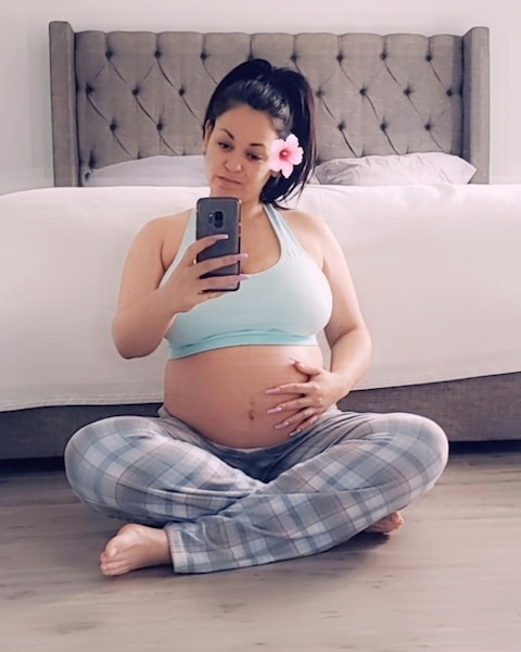 Image principale de l'article Marilyne est maman et dévoile une photo du bébé