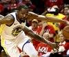 Kevin Durant a marqué 37 points lors du premier match de la finale de l'Association de l'Ouest de la NBA opposant les Warriors aux Rockets.