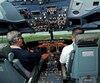 CAE simulateur tableau bord avion