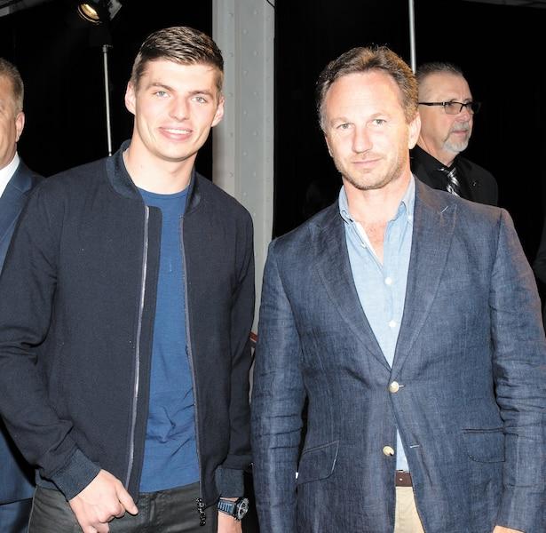 Max Verstapen et Christian Horner